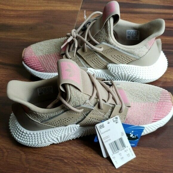 Adidas Mens Originals Prophere Lifestyle Athletic shoes CQ2128 Khaki Pink 9