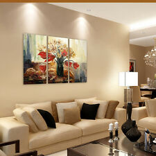 HD Canvas Prints Wall Art Paintings Canvas Picture -Table Tulip Wine Unframed A+