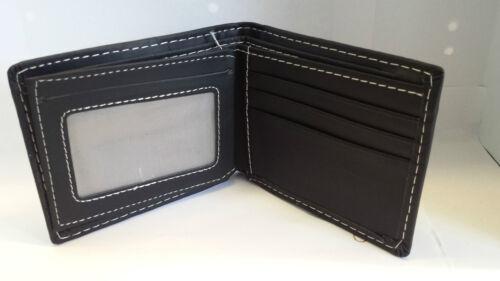 New hommes luxe soft portefeuille en cuir de qualité carte de crédit titulaire bourse