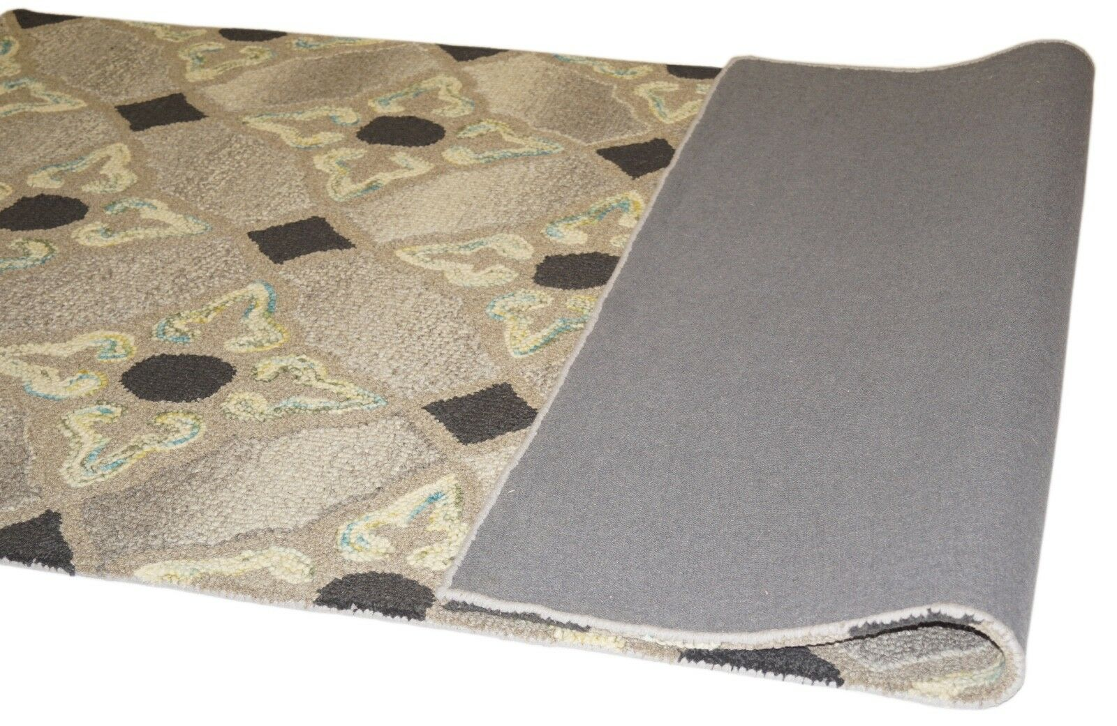 Designer Tapis 150x240 cm à la main Loop ~ 100% Laine-handgetuftet Loop main b34a5f
