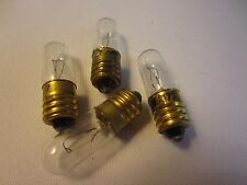 LOT OF 30 GE General Electric No.13 GE13 Miniature Light Bulb Lamps screw type
