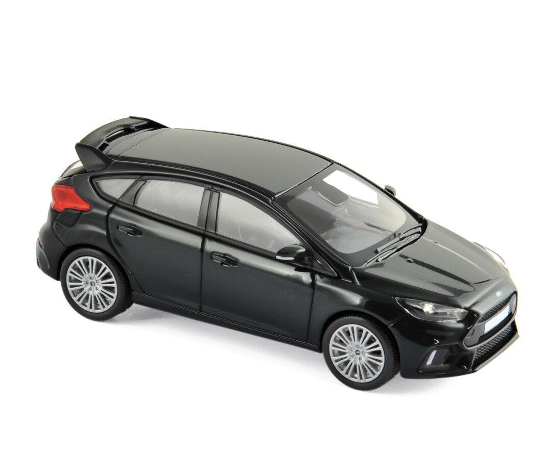 Ford Focus RS 2016 noir 1 43 Norev 270565 NEUF + neuf dans sa boîte