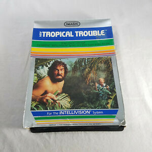 In-Box-Intellivision-Tropical-Trouble-in-protective-sleeve-TESTED-amp-GUARANTEED