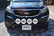 FITS 2014 KIA Sportage;SSD RALLY LIGHT BAR(Bull, Nudge Bar), 4 Light Tabs!