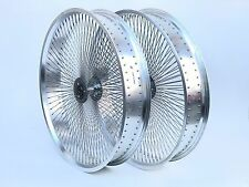 "26 x 4 100mm Wide Tricycle  Wheelset Silver Dayton Sealed Bearings Fat Bike 26"""