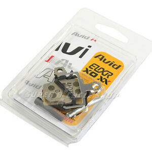 AVID Elixir X0 XX Brake Pads Organic Compound Aluminum Back Plate,For 1 brake