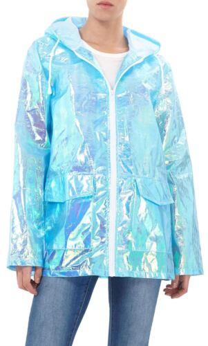 Da Donna Unicorno Leggero Con Cappuccio Neon Festival MAC Parka impermeabile giacca