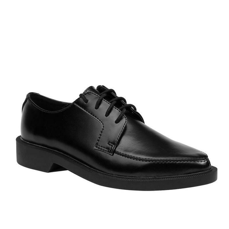 T.U.K  A9117 TUK Black Pointed Jam shoes