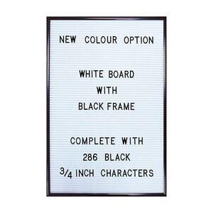 image is loading peg letter board white magnetic letter board changeable