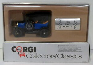 CORGI 1/43 SCALA DIECAST C863 - 1915 FORD MODEL T-Blu