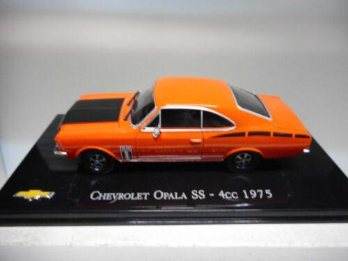 CHV 16 CHEVROLET OPALA SS 4CC 1975 BRASIL SALVAT 1//43