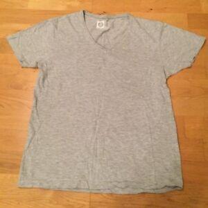 06a6f63f Image is loading CEDAR-WOOD-STATE-slim-fit-grey-T-shirt-