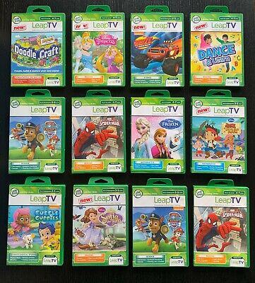 LeapFrog LeapTV Educational Games (Leap TV) Reading, Maths ...