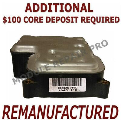 REMAN 2003-2005 Chevy Blazer ABS Pump Control Module EBCM />EXCHANGE/<