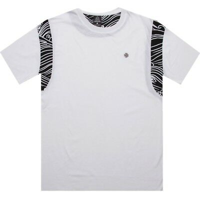 Crooks And Castles Stripe Waves Men's White T Shirt Cc730714wht Aromatic Character And Agreeable Taste Clothing, Shoes & Accessories Activewear Tops