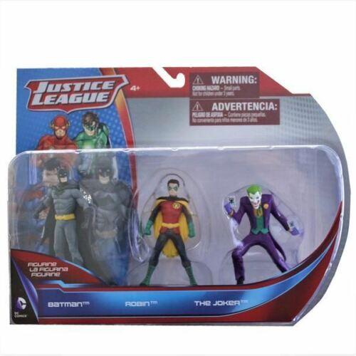 DC Comics le J Justice League of America Action Figure 3-Pack-BATMAN ROBIN