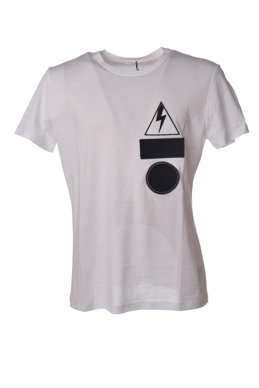 Niedrig Brand - Topwear-T-shirts - Man - Weiß - 5267520D180028