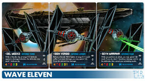 Iden Versio  X-wing 2.0 FFG Star Wars PLR Alternate Art Card Inferno Squadron