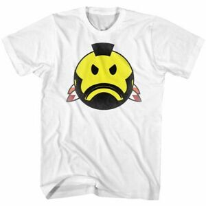Mr-T-Smiley-T-White-T-Shirt