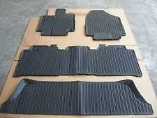 Genuine Honda 18 19 Odyssey Black High Wall All Season Floor Mats 08P17 THR