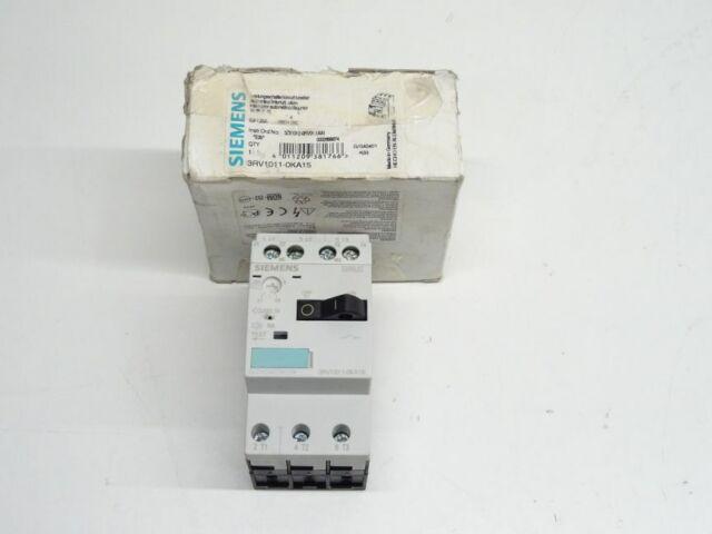 Siemens 3RV1011-0KA15 Leistungsschalter 3RV1 011-0KA15 E :0 5