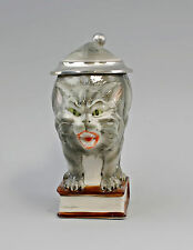 Bierkrug Sammler-Krug Humpen Katze grau 0,25l Ernst Bohne H16cm 9997109