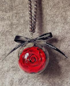 Je T Aime Preserved Fresh Red Roses Immortal Flower Ebay