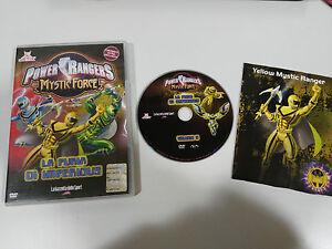 POWER RANGERS MYSTIC FORCE LA FURIA DI IMPERIOUS DVD 3 EPISODI ENGLISH ITALIANO