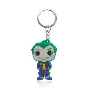 The-Joker-DC-Comics-PVC-Kawaii-Cartoon-Novelty-Novelty-Keyring-Keychain-Gift-Bag