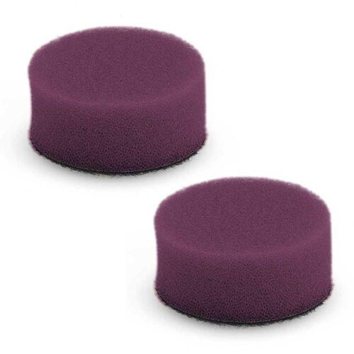 FLEX 2x Ø 40mm Polierschwamm PS-V hart violett 442658 442.658