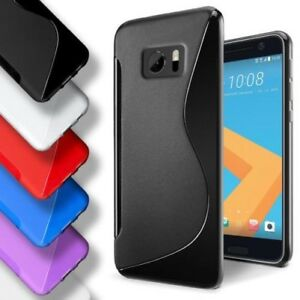 TPU-Etui-COQUE-pour-HTC-Slim-Sac-de-Silicone-Telephone-Portable-Pare-Chocs-Etui