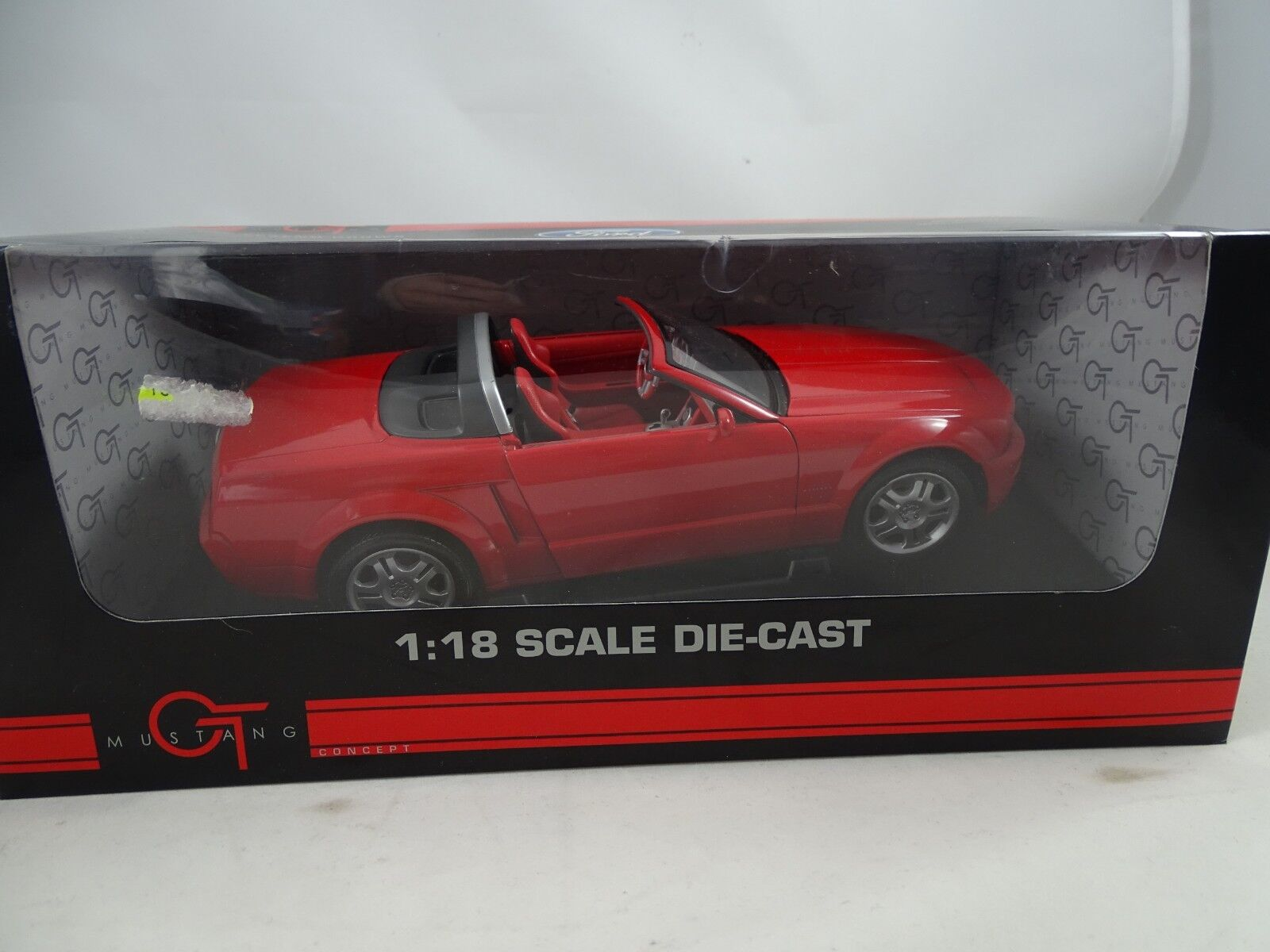 1 18 Beanstalk   FOR10016R Ford Mustang GT rouge-Rarity §  100% livraison gratuite