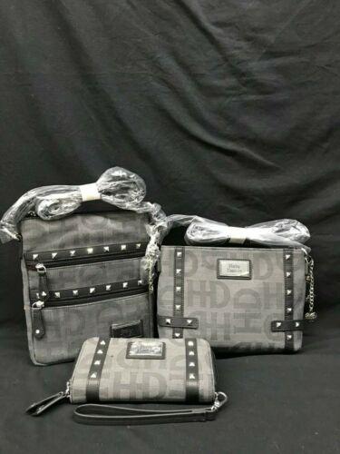 Harley Davidson Grey H-D Jacquard Purse Collection