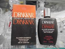 DRAKKAR allover shampoo 100ml VERY RARE VINTAGE