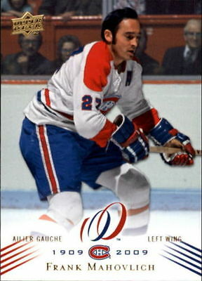 2008-09 Upper Deck Montreal Canadiens Centennial #25 Frank Mahovlich MINT !