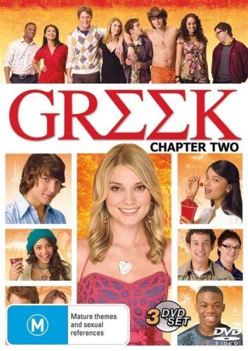 1 of 1 - Greek : Chapter 2 (DVD, 2009, 3-Disc Set)