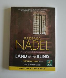 Land-of-the-Blind-by-Barbara-Nadel-MP3CD-Audiobook