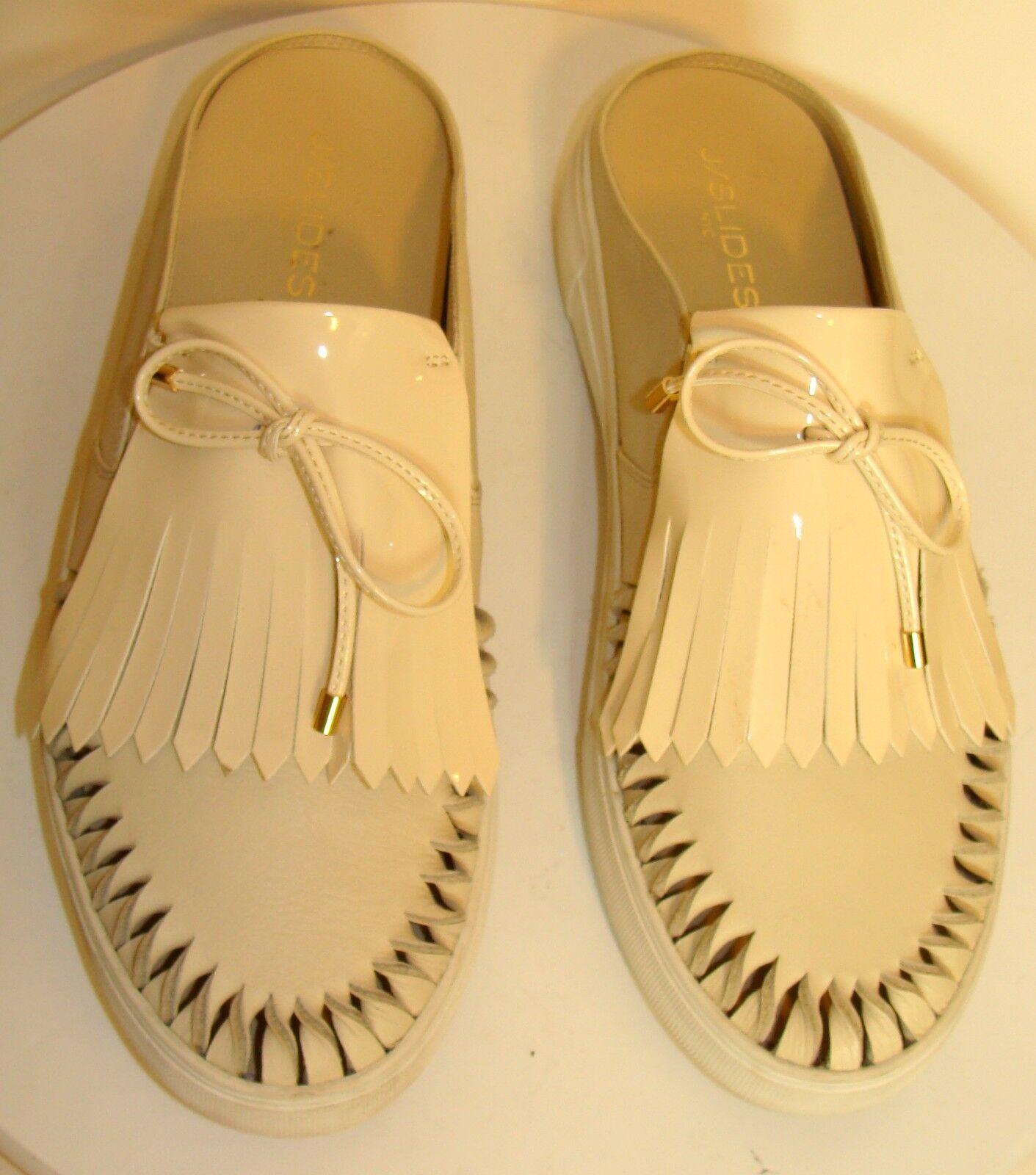 J SLIDES AMORA femmes BEIGE chaussures SLIDES Taille 10M  C121