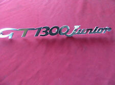 "Alfa Romeo Bertone / GT Schriftzug "" GT 1300 Junior"" NEU"
