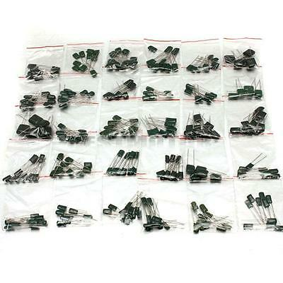 278Pcs 30 Values Polyester Film Capacitor Assorted Assortment Kit 470pf To 470nf