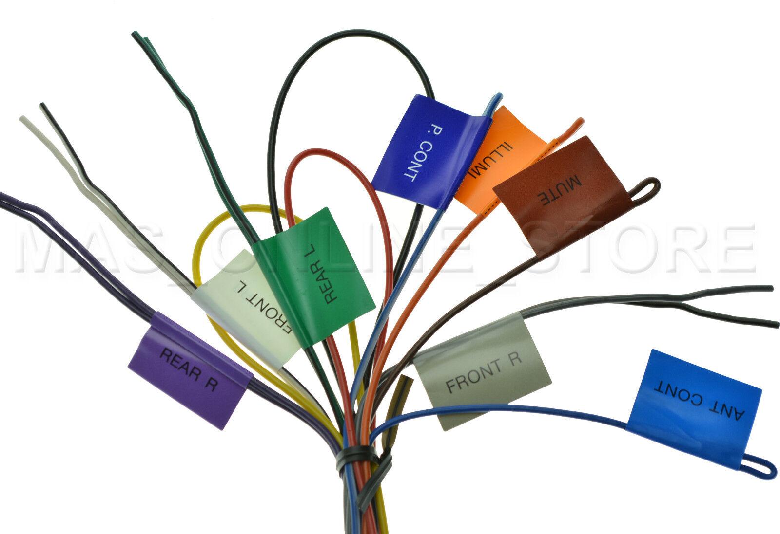 Kenwood Kdc X792 Kdcx792 Oem Genuine Wire Harness Ebay X492 Wiring Diagram