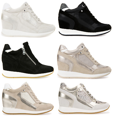geox sneakers price, Geox wmns d nydame a camoscio brill