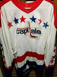 best sneakers 9e598 aee3d Details about Vintage Washington Capitals jersey