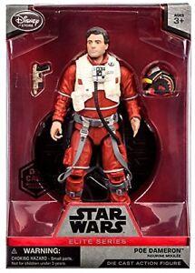 Star-Wars-ELITE-Die-Cast-Series-POE-DAMERON-X-Wing-Pilot-Action-Figure