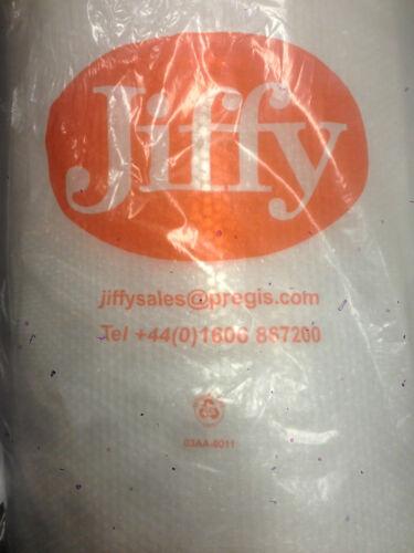 Jiffy bulles 100 gratuit 24h 50 mètres de long x 300 500 750 mm inc antistatique