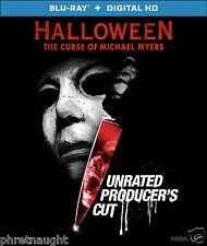 HALLOWEEN VI: THE CURSE OF MICHAEL MYERS UNRATED PRODUCER'S CUT BLU-RAY