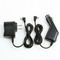 Car Charger +ac/dc Wall Power Adapter Cord For Navigon Gps 7100/live/lt 7100/t/m