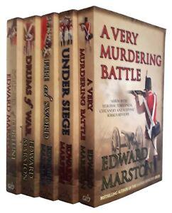 Captain-Rawson-5-Books-Edward-Marston-1-5-War-Thriller-Detective-Soldier-New