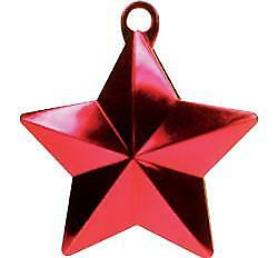 Star Balloon Weight Red BALLOON ACCESSORIES PARTY SUPPLIES