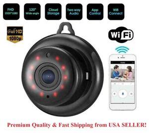 Wireless Wifi Baby Monitor Spy Nanny Security Camera with Night vision IR 1080P
